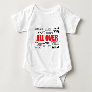 What's black and white and red all over? baby bodysuit
