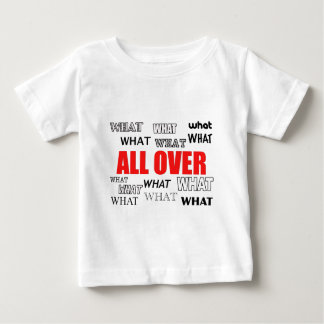 What's black and white and red all over? baby T-Shirt