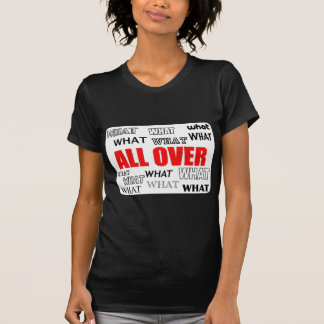 What's Black and White and Red All Over? T-Shirt