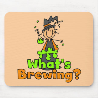 What's Brewing T-shirts and Gifts Mouse Pad