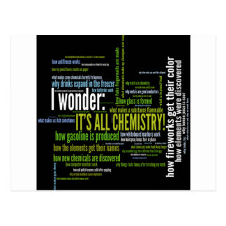 What's chemistry got to do with it? postcard