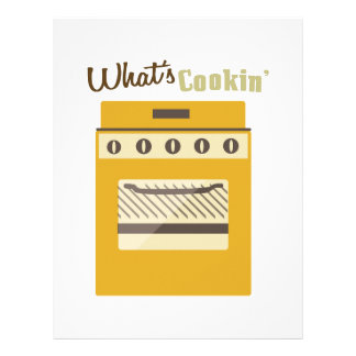 Whats Cookin Personalized Letterhead
