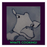 WHAT'S COOKING! - PRINT