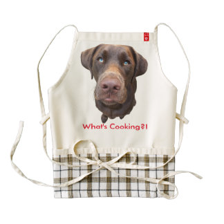 What's Cooking Zazzle HEART Apron