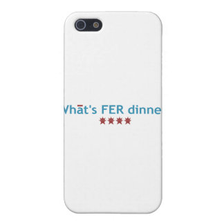 """""""What's FER Dinner"""" Cover For iPhone SE/5/5s"""