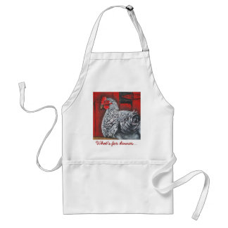 What's for dinner... adult apron