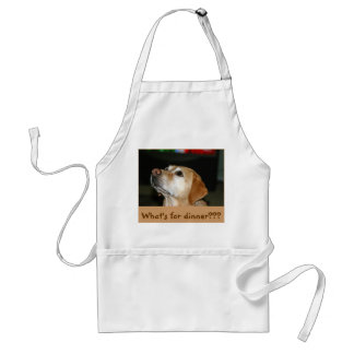 What's for dinner??? adult apron
