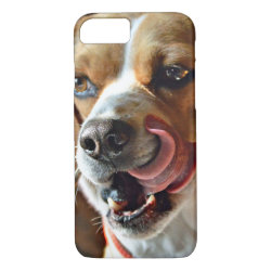 What's For Dinner? Beagle Hound Dog iPhone 8/7 Case