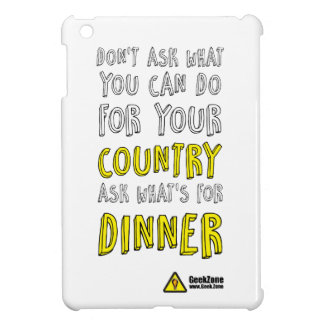 What's for Dinner? by GeekZone iPad Mini Case