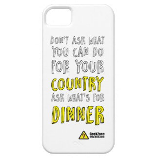 What's for Dinner? by GeekZone iPhone SE/5/5s Case