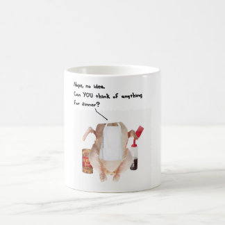 WHATS FOR DINNER CHICKEN COFFEE MUG