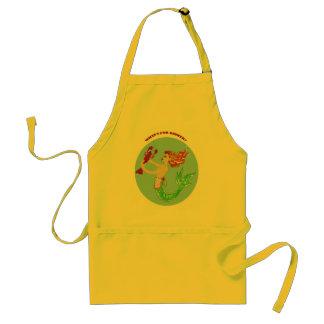 what's for dinner mermaid apron