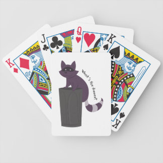 Whats For Dinner Bicycle Playing Cards