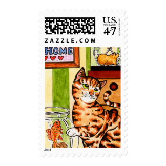 What's for dinner... postage stamp