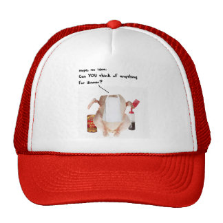 WHATS FOR DINNER RAW CHICKEN - MEN FUNNY COOK GIFT TRUCKER HAT