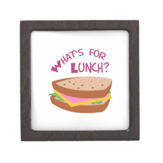 WHATS FOR LUNCH PREMIUM JEWELRY BOX