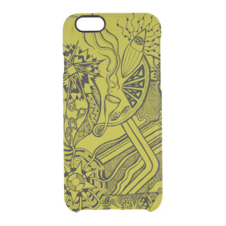 What's happening - clear phone case funky fun