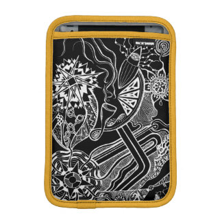 What's happening - ipad sleeve with funky fun