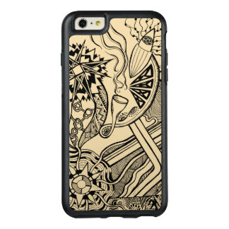 What's happening - OtterBox phone case funky art