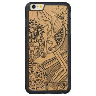 What's happening - wood phone case funky fun world