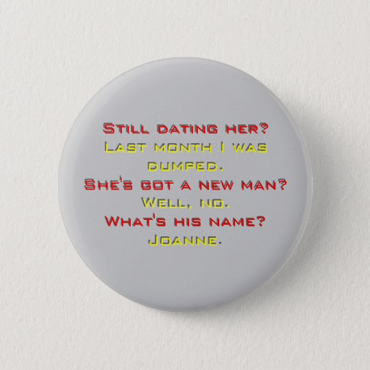 what's his name pinback button