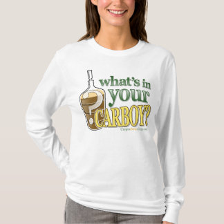 What's in Your Carboy Ladies' Petite Long Sleeve T T-Shirt
