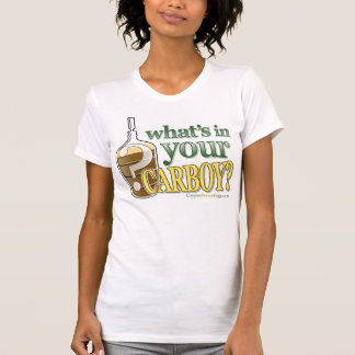 What's in Your Carboy Ladies' Petite T-Shirt