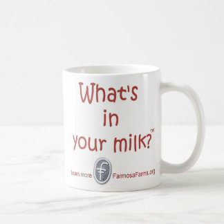 What's in your Milk? Mug