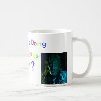 Whats Jesus doing in old gregs waters? Coffee Mug