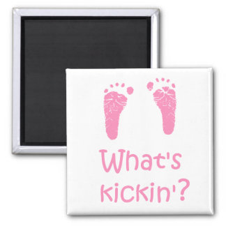 What's Kickin? magnet