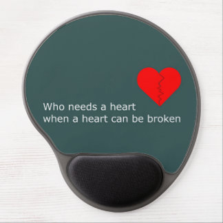 What's love got to do with it gel mouse pad