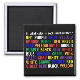 What's My Color Magnet