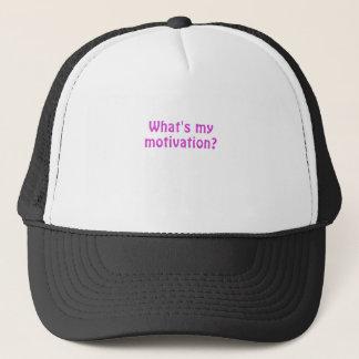 Whats My Motivation Trucker Hat