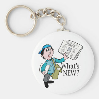 What's New? - Word Play Keychain