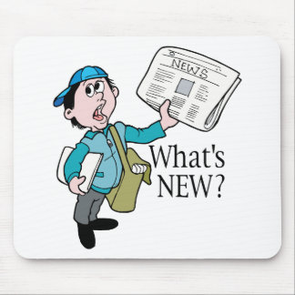 What's New? - Word Play Mouse Pad