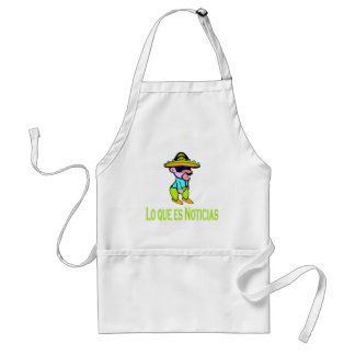 What's News Adult Apron