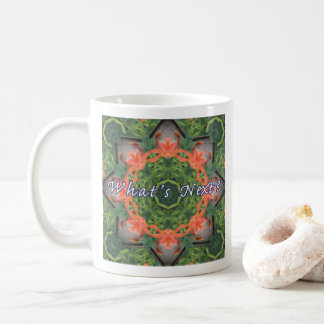 """What's Next?"" Mandala Coffee Mug"
