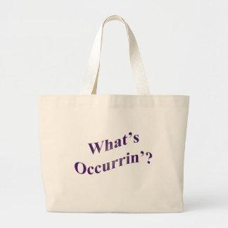 What's Occurrin'? Jumbo Tote Bag