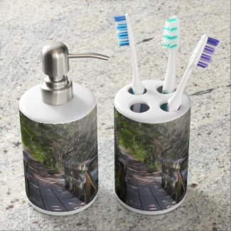 What;s on the Other Side - Tooth brush holder/soap