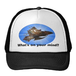 What's on your mind? trucker hat