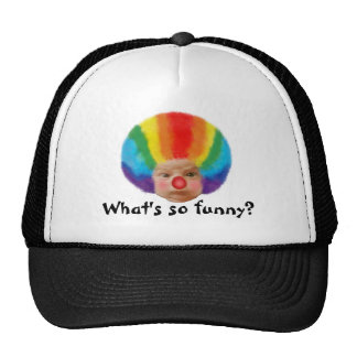 What's so funny? Ball Cap Trucker Hat