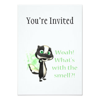Whats That Smell Skunk Card