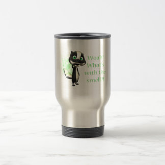 Whats That Smell Skunk 15 Oz Stainless Steel Travel Mug
