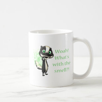 Whats That Smell Skunk Classic White Coffee Mug