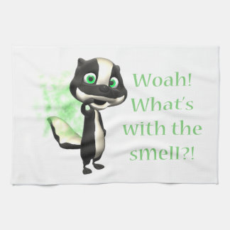 Whats That Smell Skunk Towel