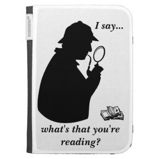 What's That You're Reading Funny Kindle Cover