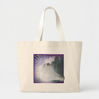 Whats The Big Idea  by TEO Large Tote Bag