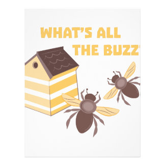 Whats The Buzz Letterhead