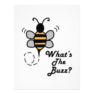 What's The Buzz? Letterhead Template