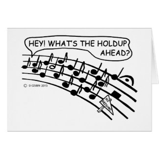 What's The Holdup? Card